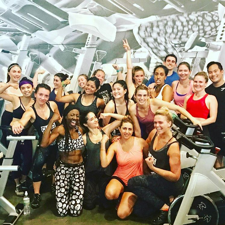 YAS DTLA National Fitness Day Spin Class