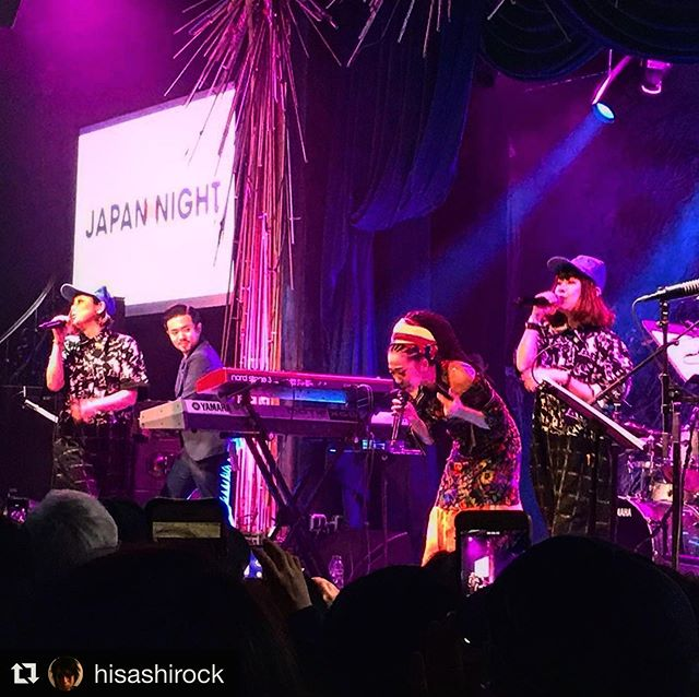 So fun playing with two pop-stars in NYC at #sonyhallnyc 🍾🎌🗽 Misia Live at NYC with special guest PUFFY 最高でした!!!!! #ジャパンナイト #japannight