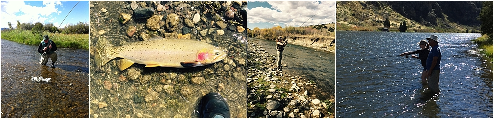 Ric Enjoying fishing the madison river with one of his daughters, Jackie