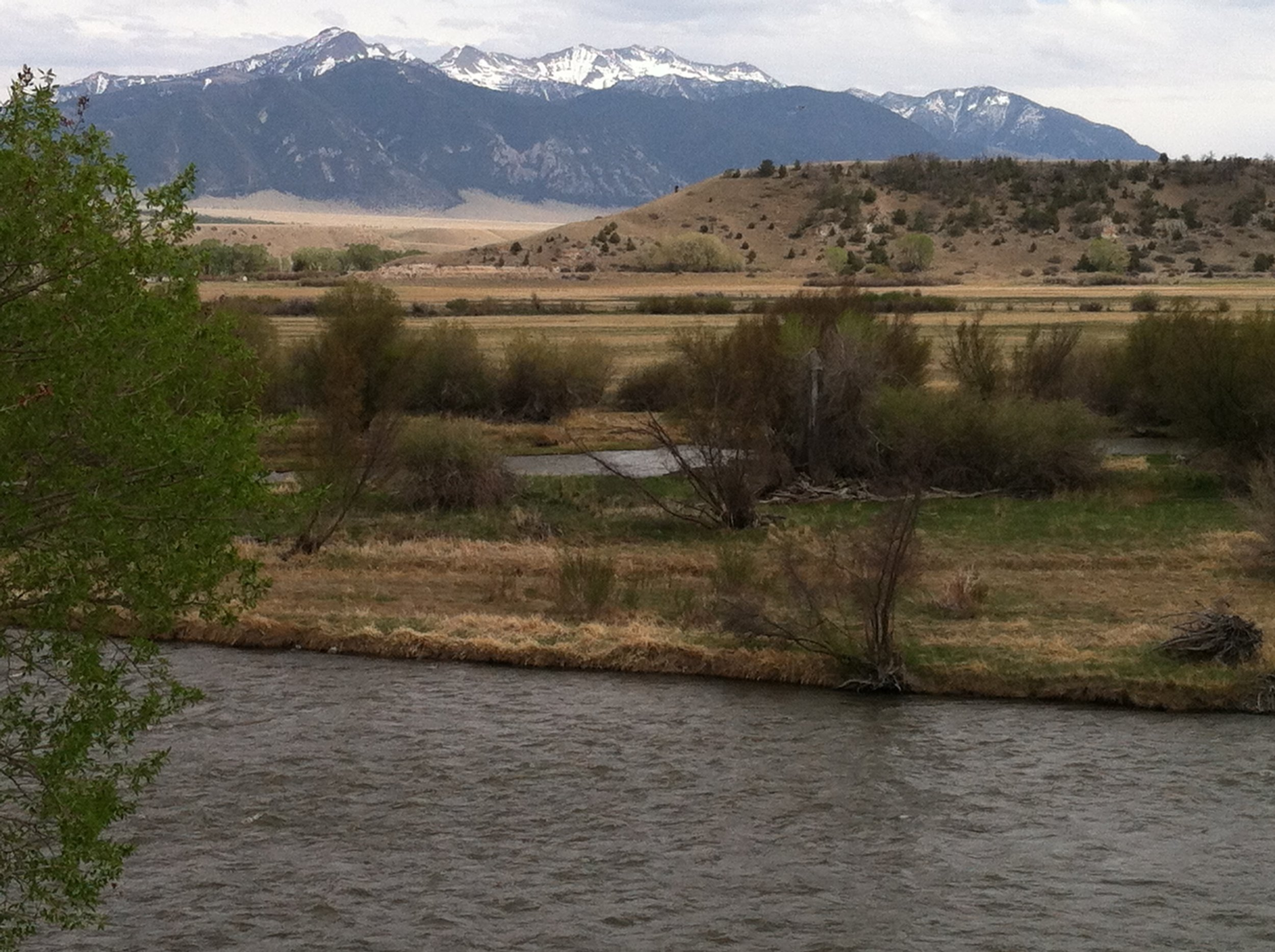 The madison River east of the anglers' Rest & retreat