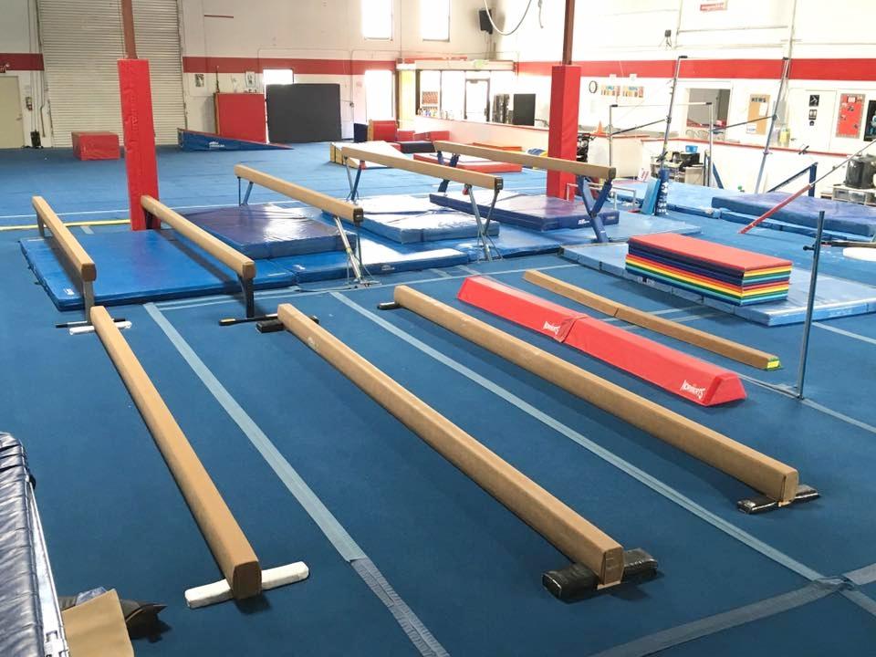 Main Gym - Beams