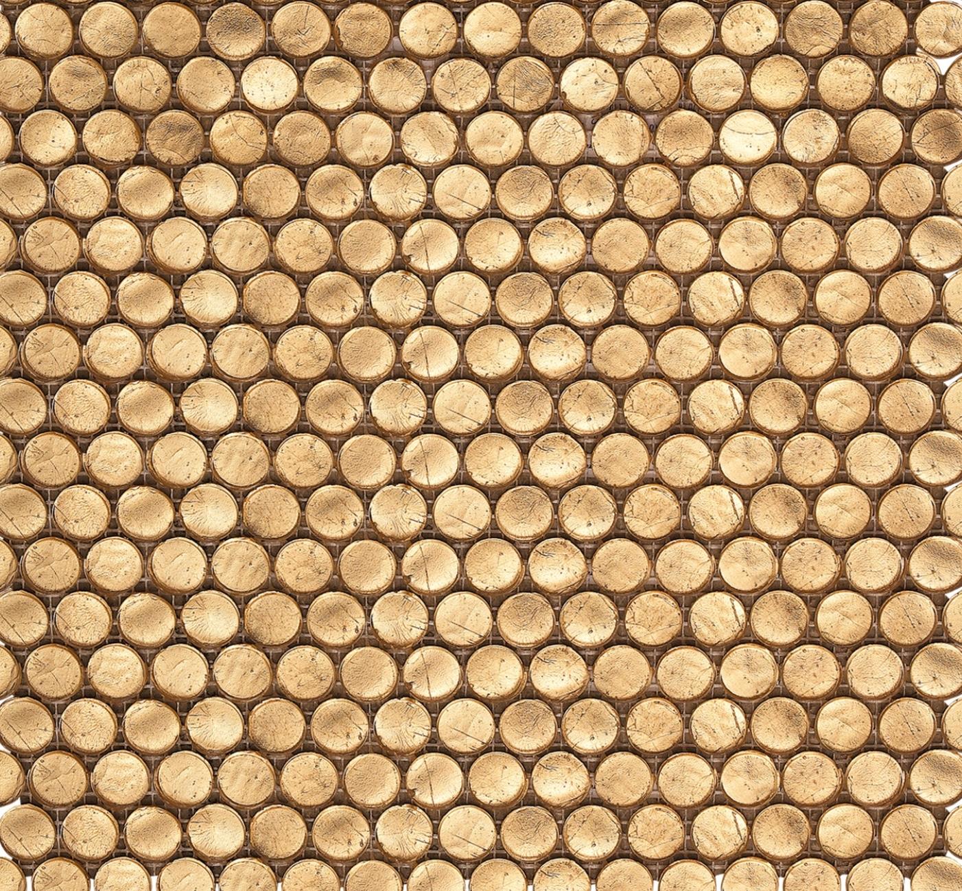 Interglass Penny Round Gold