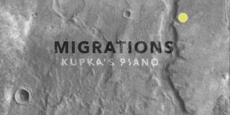 View our MIGRATIONS video art by  Amelia Hine , featuring music from Liam Flenady's  A Book of Migrations .
