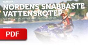 """TEKNIKENS VÄRLD - 2011    """"Nordens snabbaste vattenskoter"""""""
