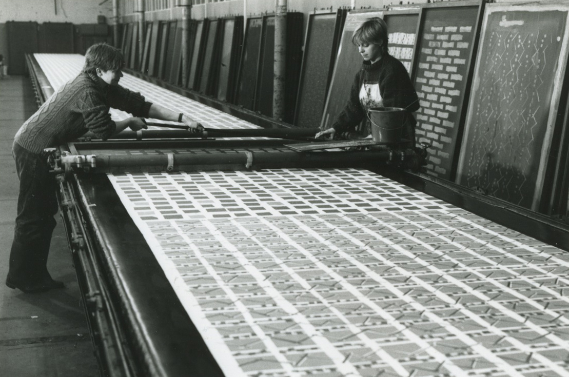 Studio BonBon, print workshop (1986)