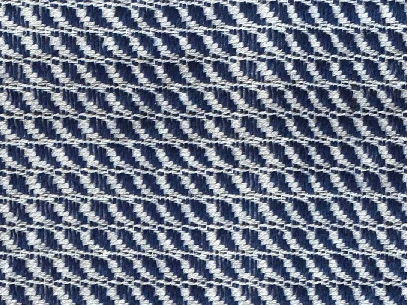 Woven Structure – Blue/white #2