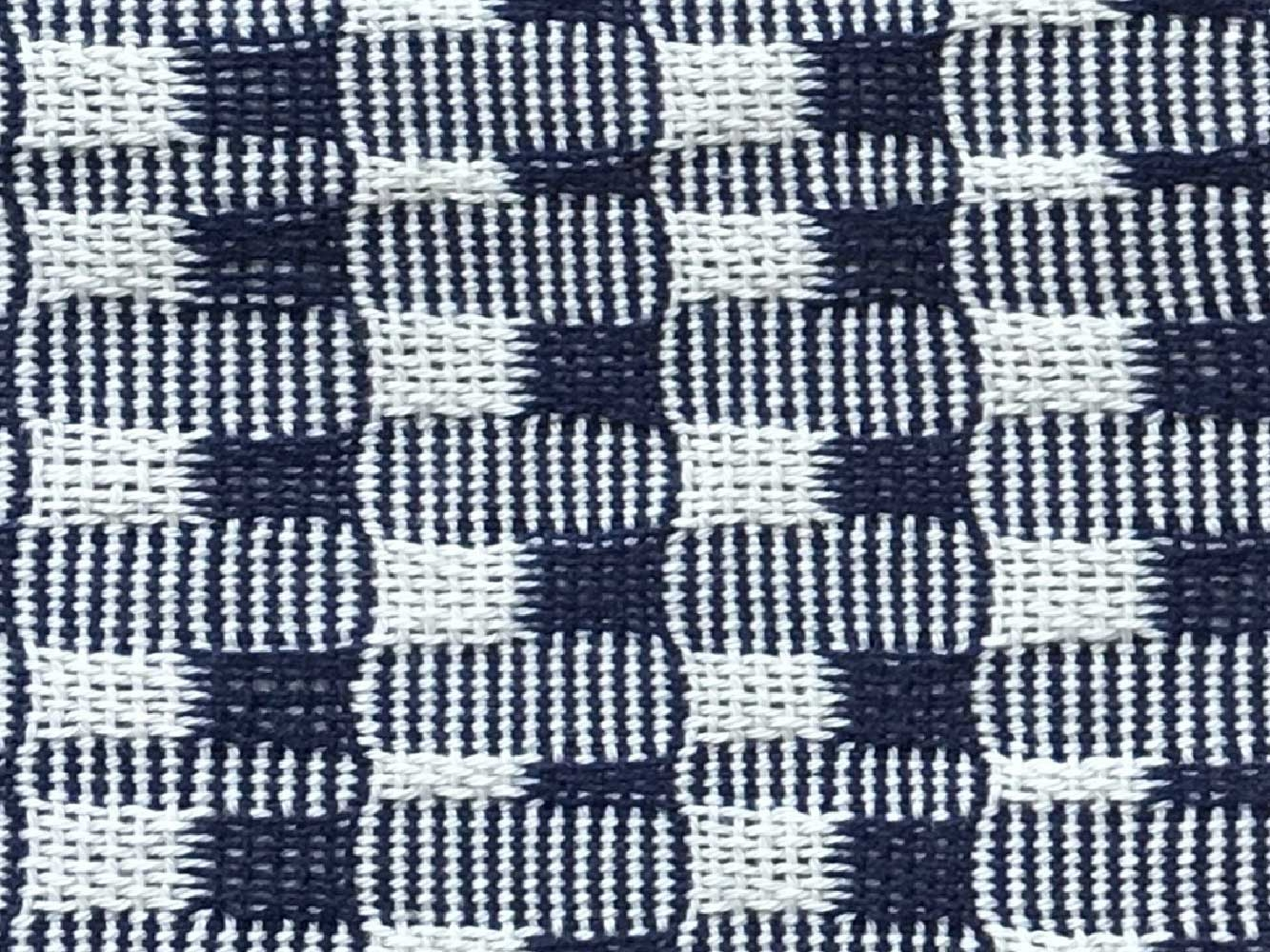 Woven Structure – Blue/white #5