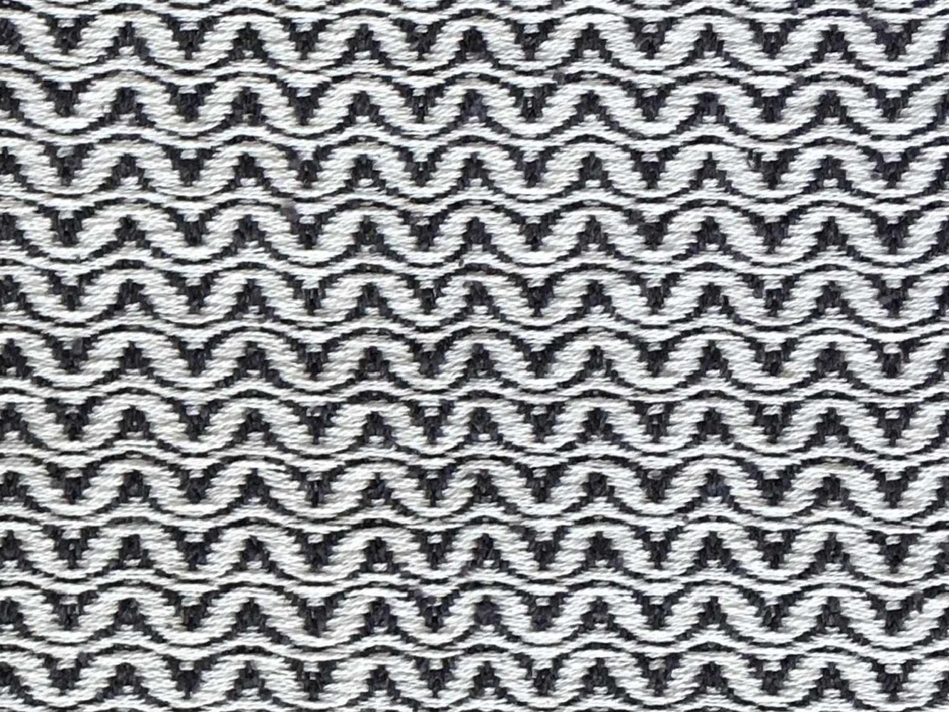 Woven Structure – Black/white #1