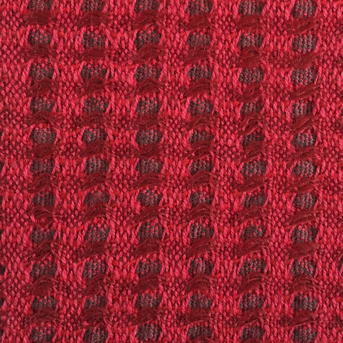 Woven Structure – Red/red #1