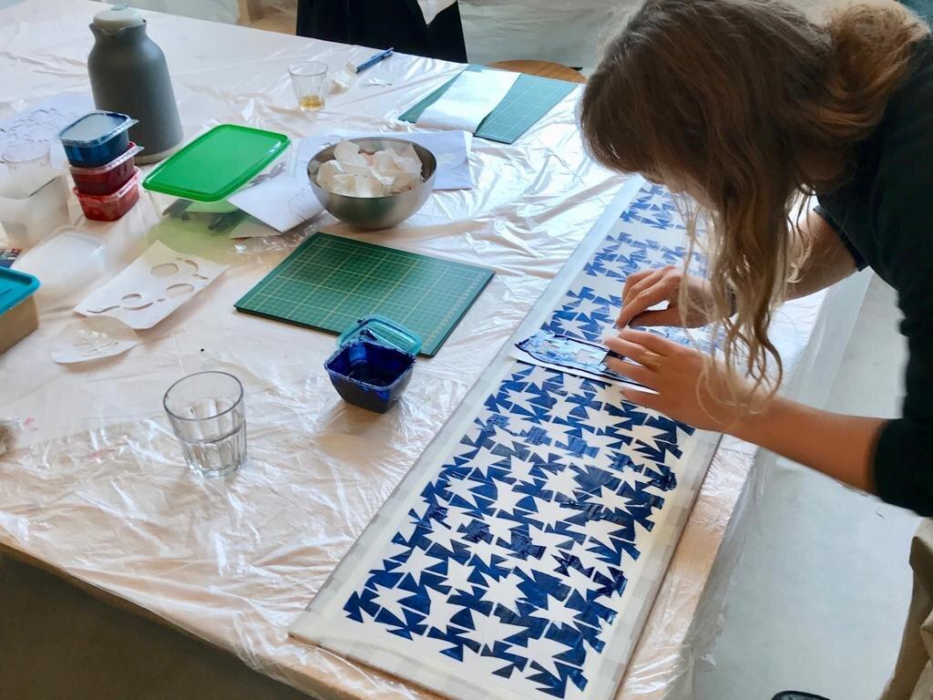 Workshop: Katazome op Zijde @ Zijdelings