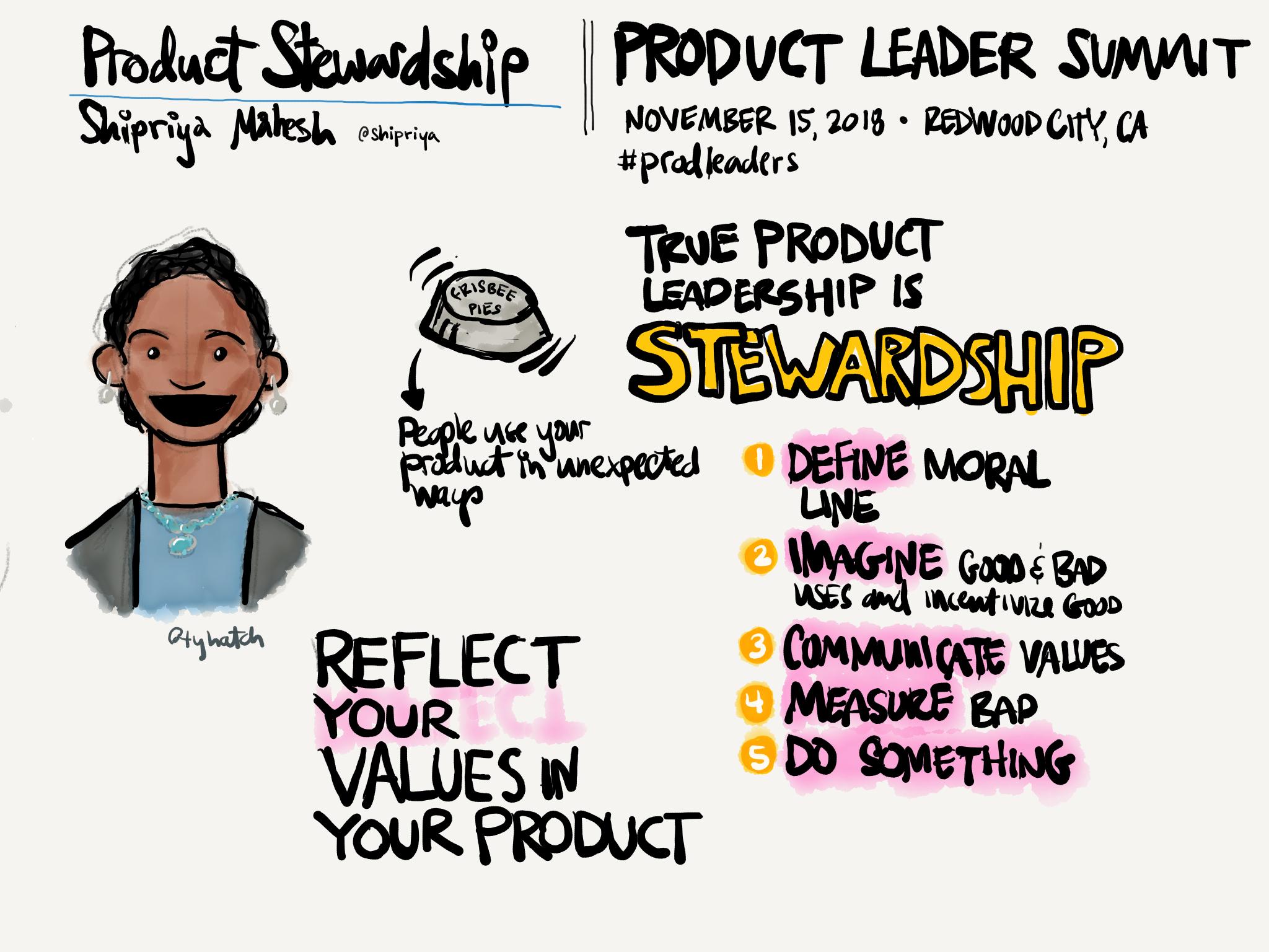 Shripriya Mahesh talk: Product Stewardship
