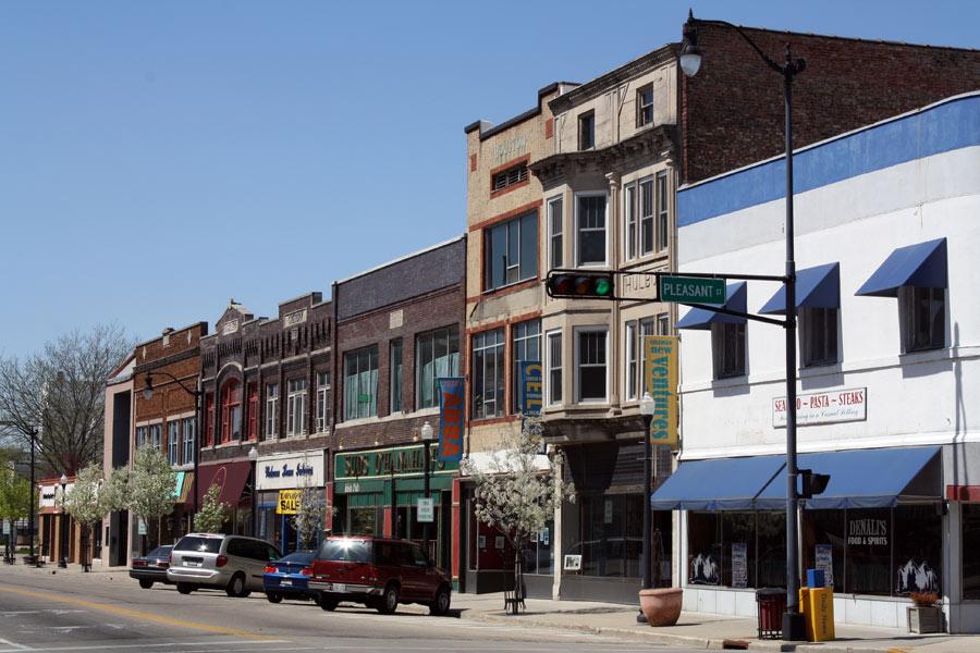 Downtown Beloit, WI (Wikimedia)