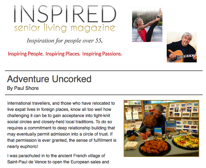 Contributed article - inspired Senior Living Magazine