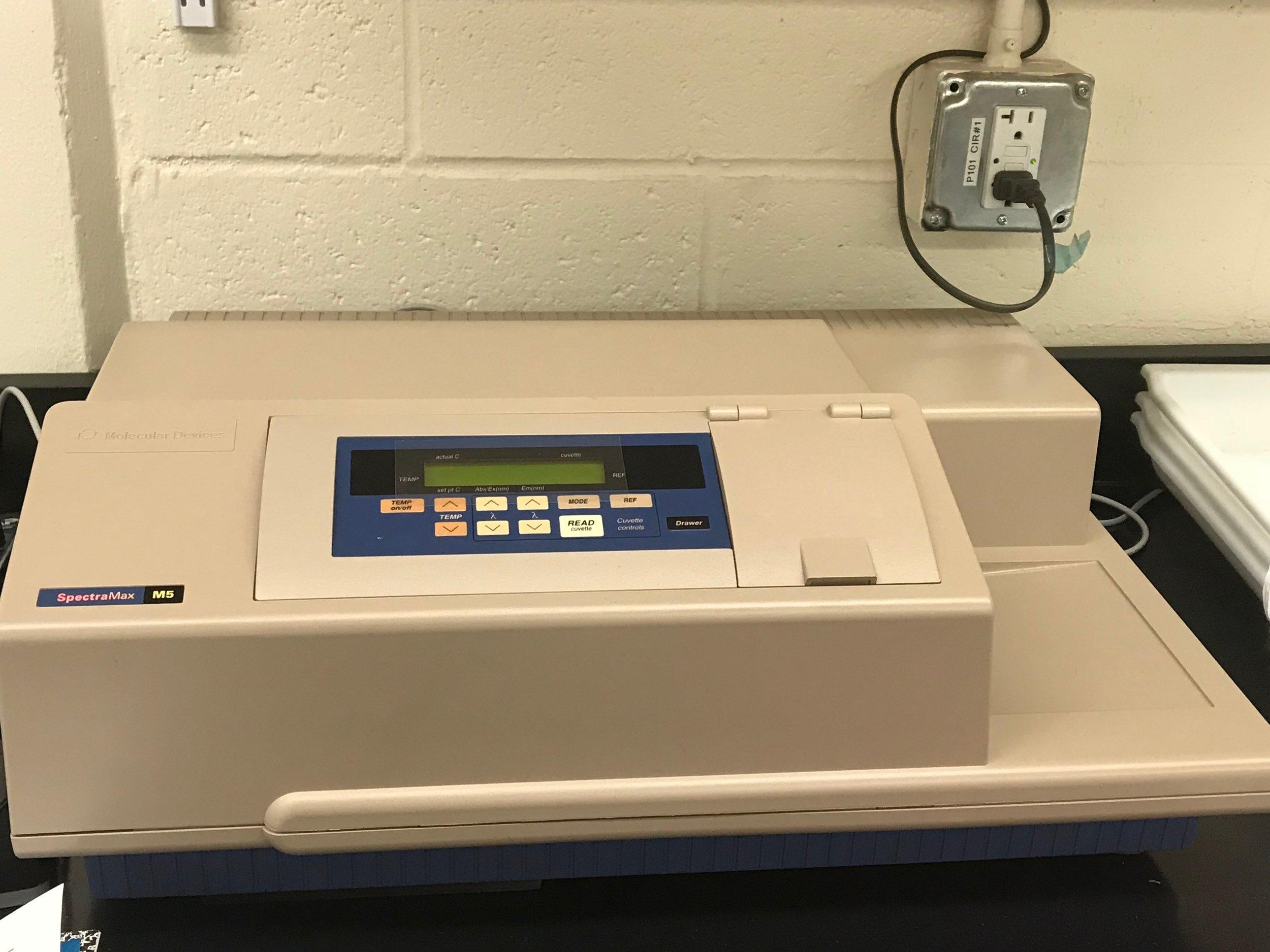 Molecular Devices Spectramax M5 Multimode Plate Reader -
