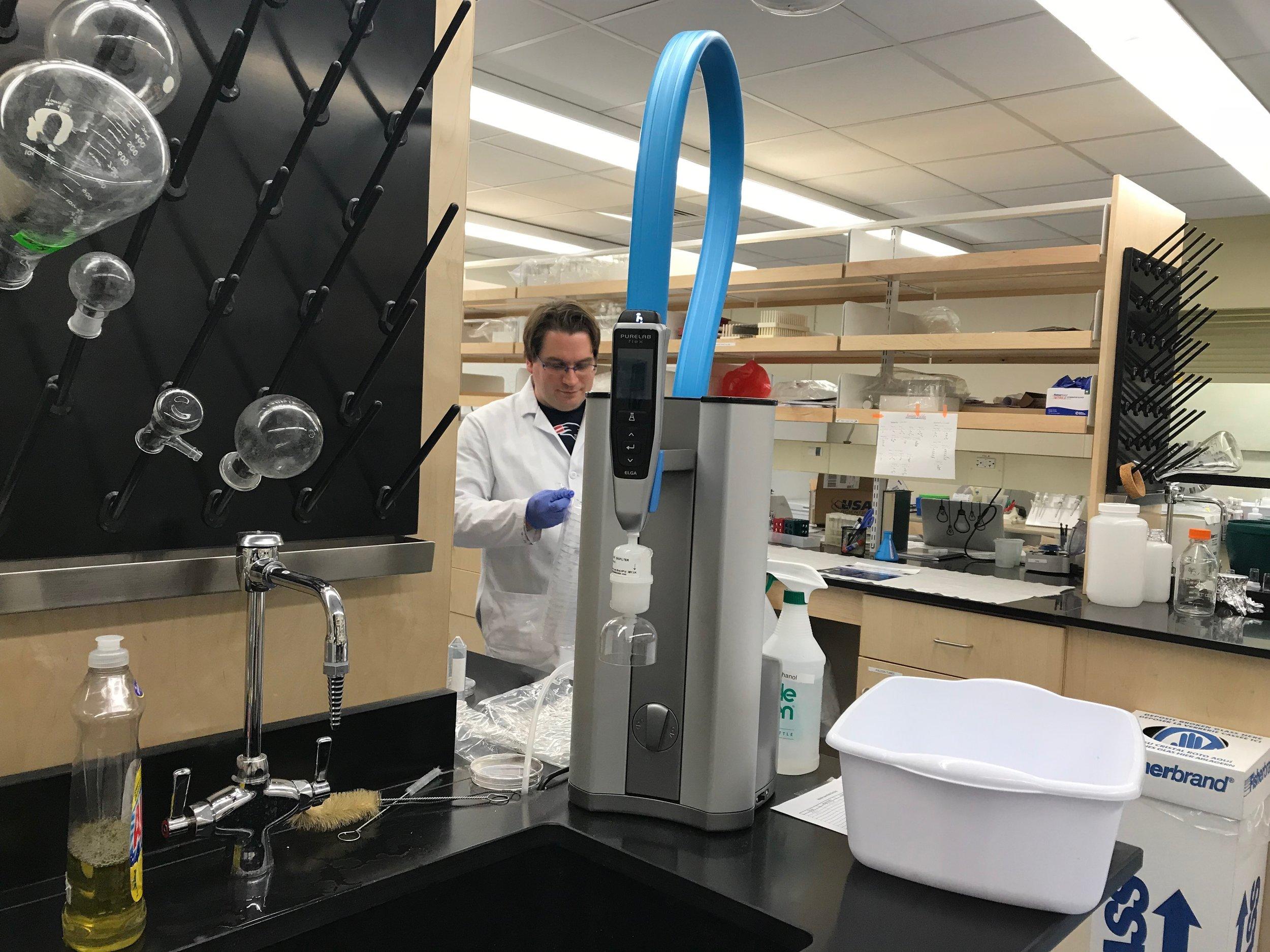 PURELAB FLEX 2 POUDeionized Water System -