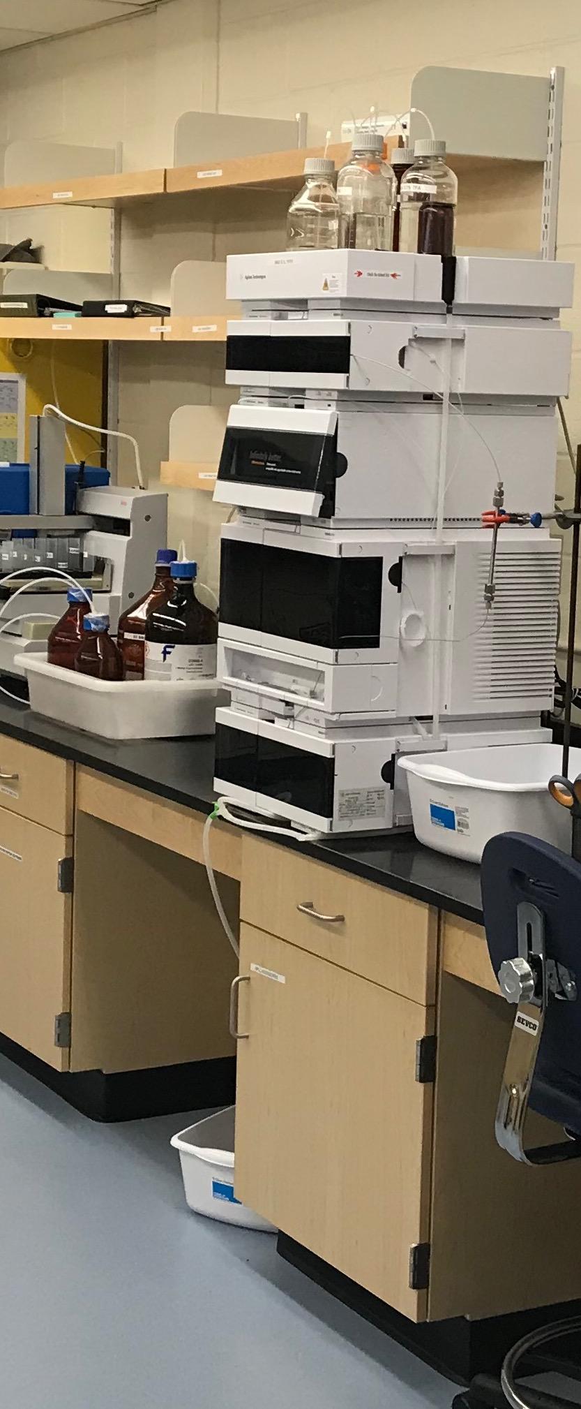 Agilent 1260 Infinity II High Pressure Liquid Chromatography -