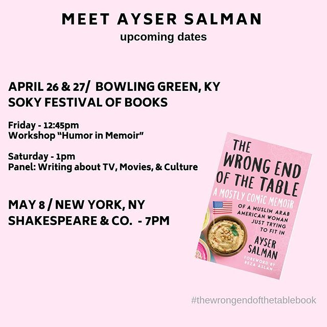 Southern Kentucky I'm coming for you this weekend. I'll be at #sokybf2019. Come thru if you're near.  And then I'm heading to #nyc ... cuz if I can make it there... #booktour #authorsofinstagram #writersofinstagram #thewrongendofthetablebook #immigrantstories #immigrantsmakeamericagreat #memoir #comicmemoir #bowlinggreenky