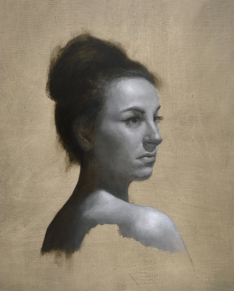 Grisaille Study of Tatiana