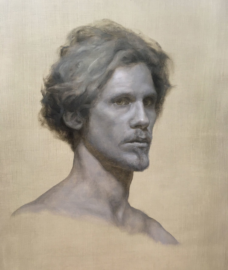Grisaille Study of Kimbal