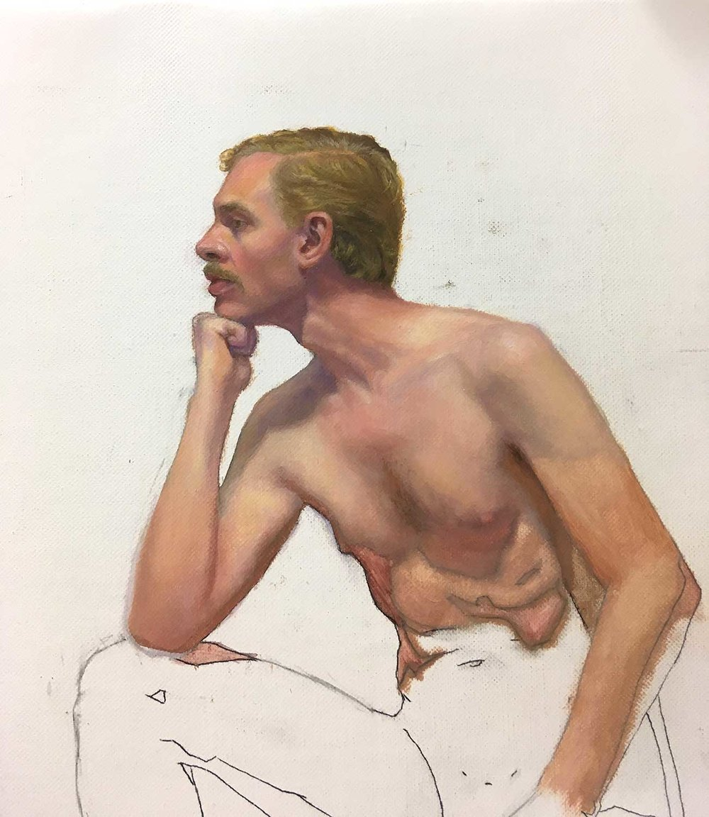 Male Study by Terry Ward