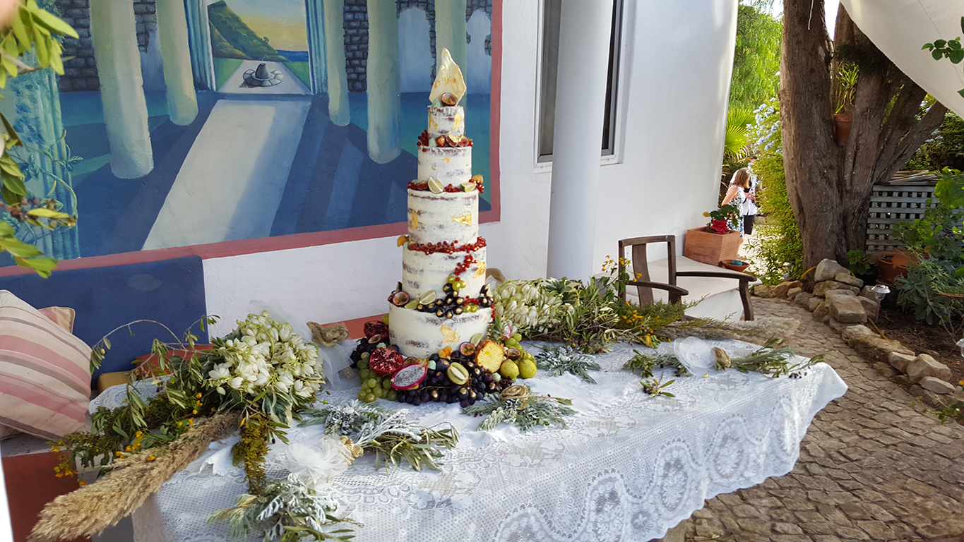 """Sadie & Ralph's Destination Wedding - """"An extra big thank you for the most beautiful cake in the world & for all your help & for being amazing!"""" - Sadie Exley-Myers"""