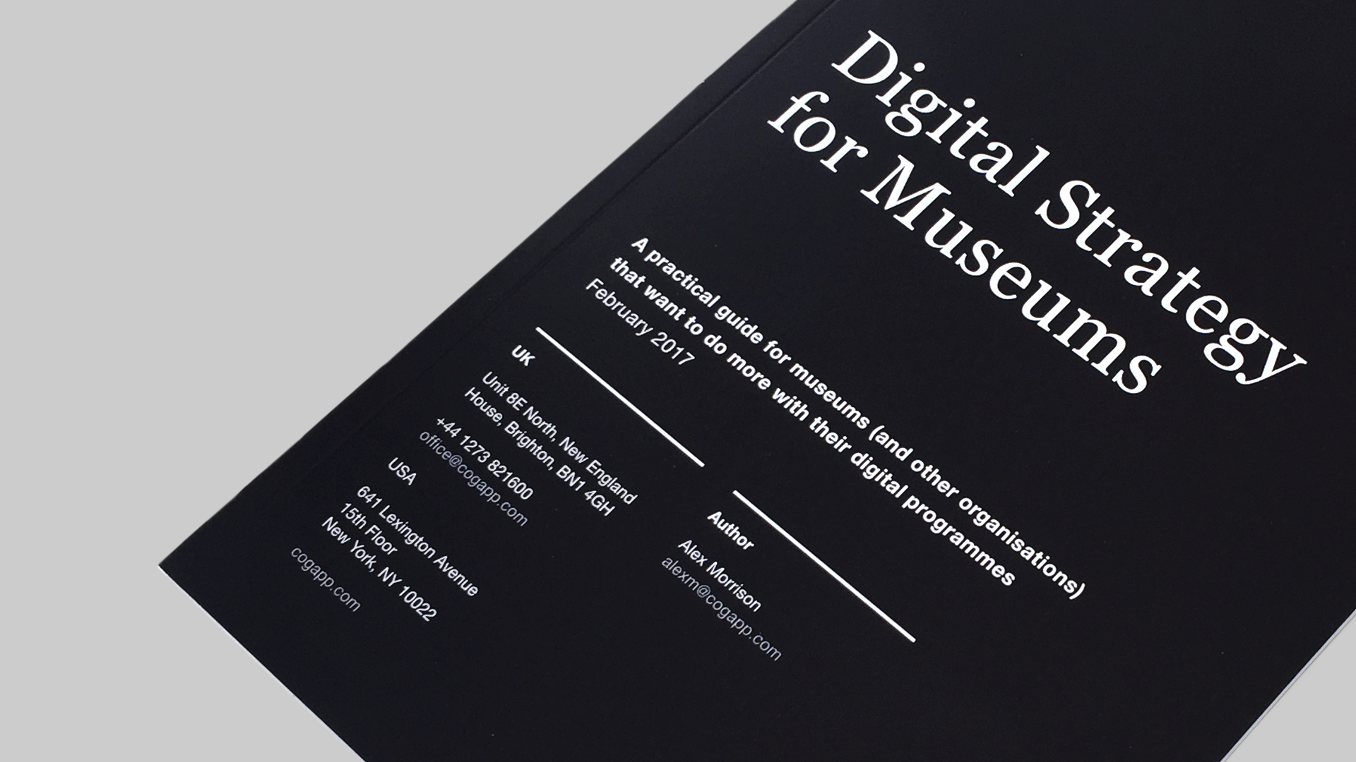 Digital Strategy for Museums - Download your copy now.