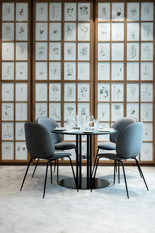 Beetle Chair_Gubi Column Table_Flora Danica_4.jpg