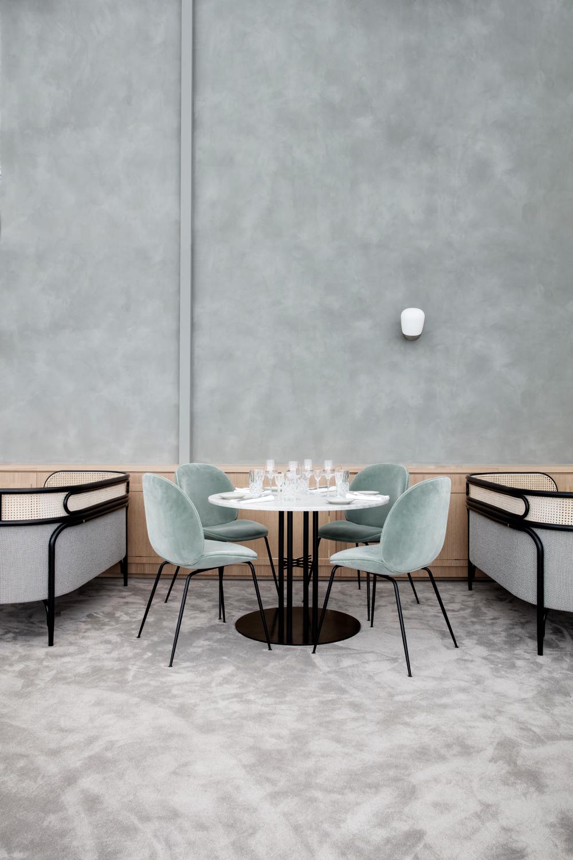 Beetle Chair_Gubi Column Table_Flora Danica_5.jpg