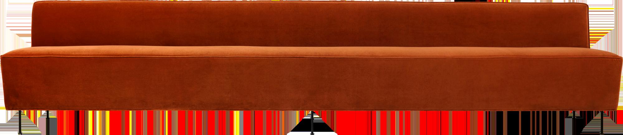 Copy of Modern Line Dining Sofa 350 cm