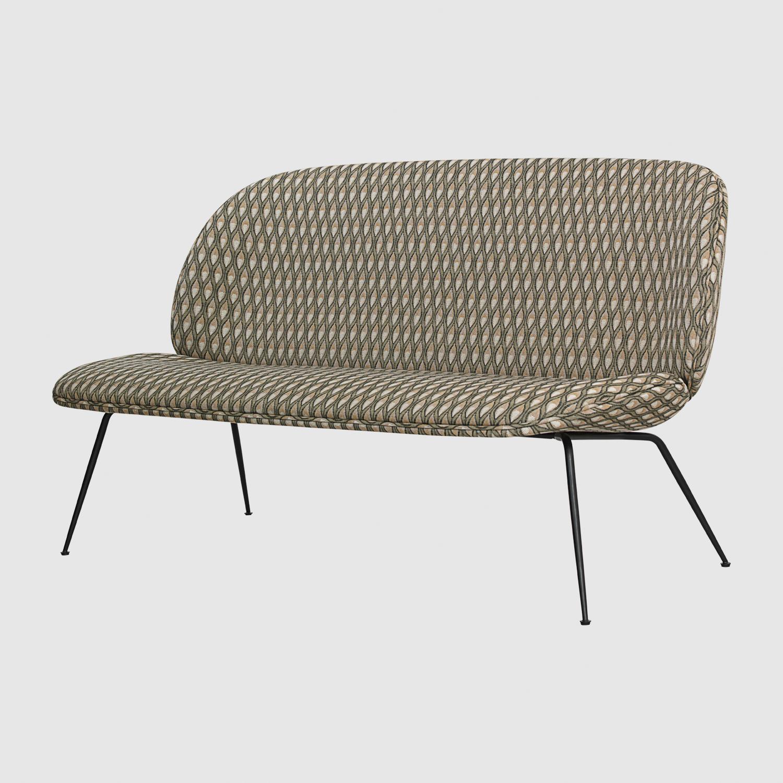 Sofa: seating 36cm, 80 x 140 x 81cm