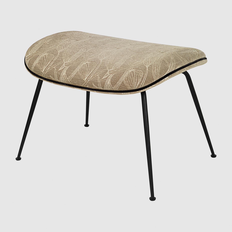 Ottoman: seating 38cm, 45 x 60 x 42cm