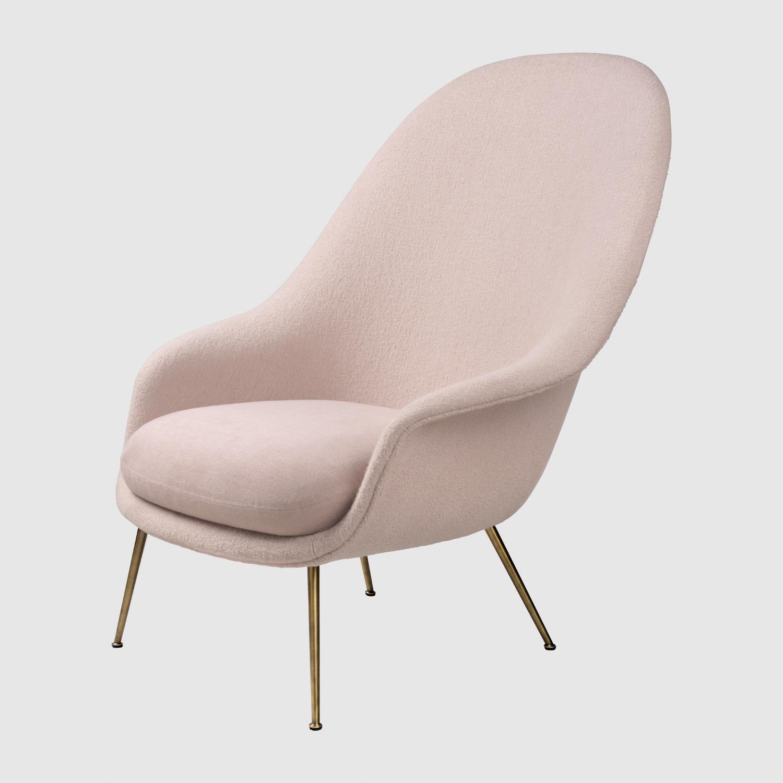 Lounge Chair - High Back: 83 x 85 x 101 cm