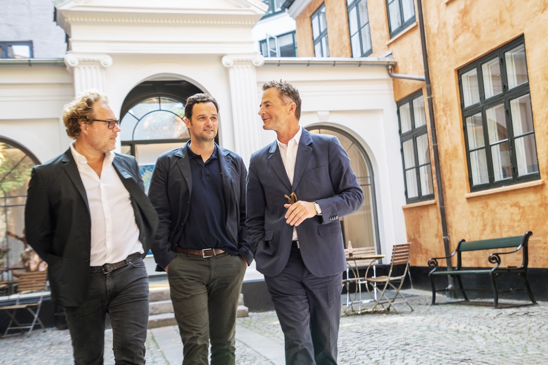From left to right: Jacob Gubi Olsen (Creative Director), Kenni Riise (CEO) & Lars Munch (Chairman of the board)