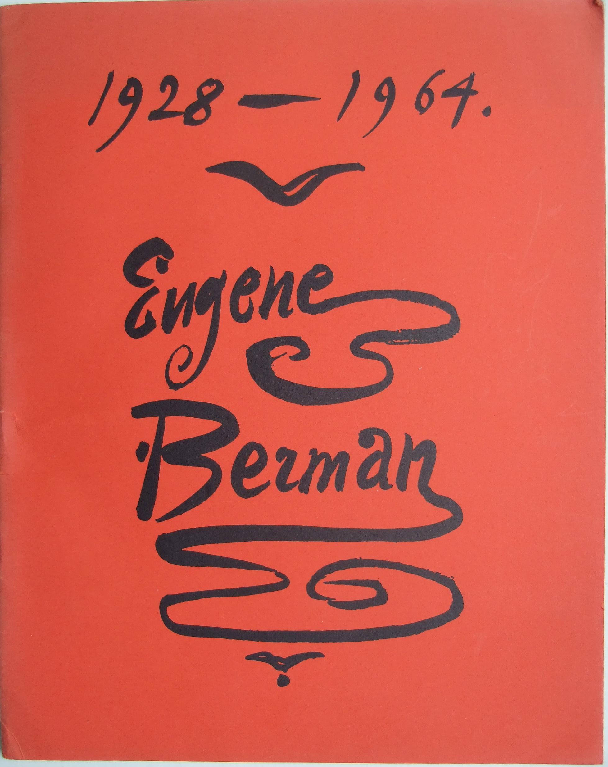 Eugene BERMAN. Exhibition Catalogue. November 1964.