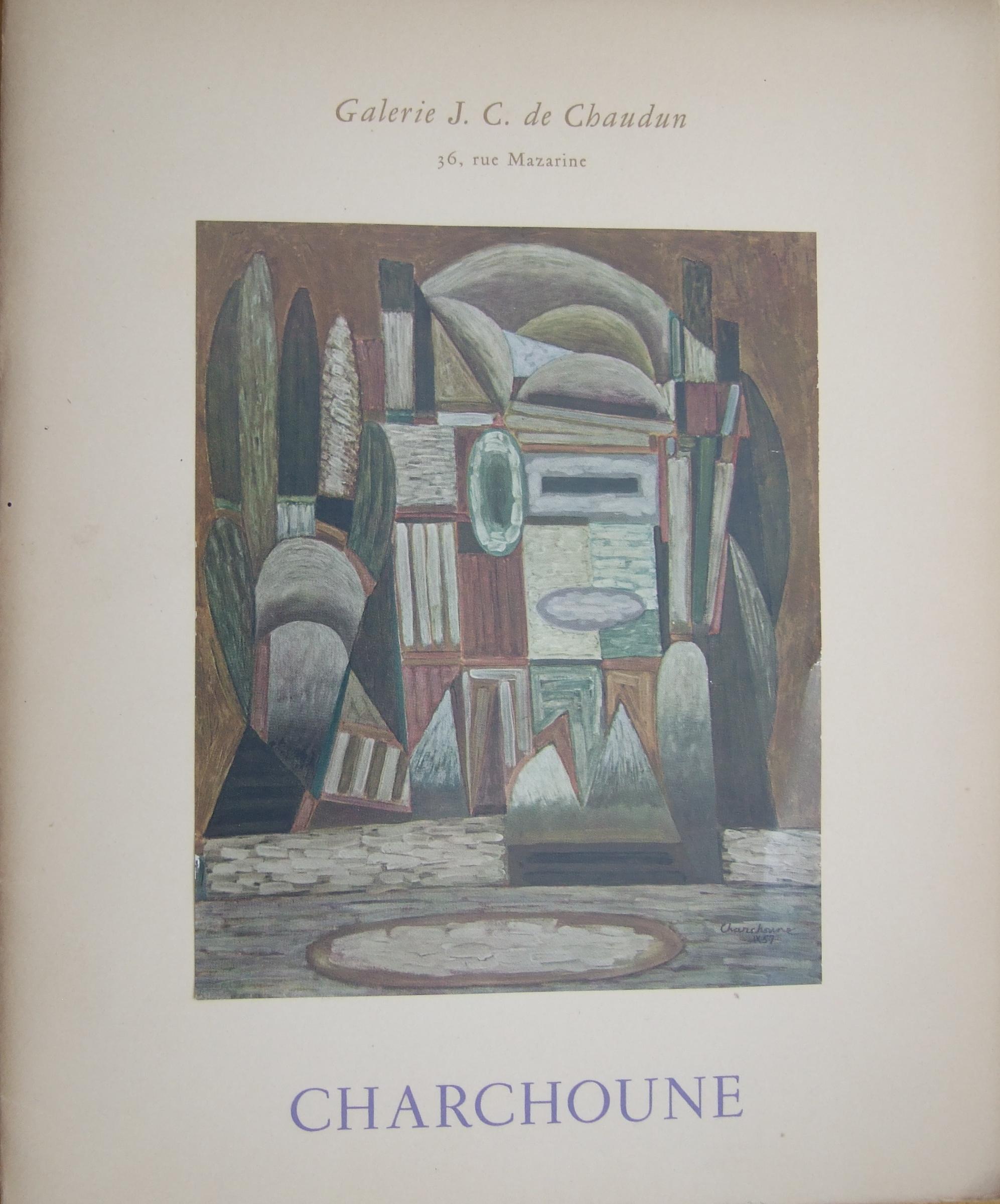 Charchoune Galerie J.C. de Chaudun