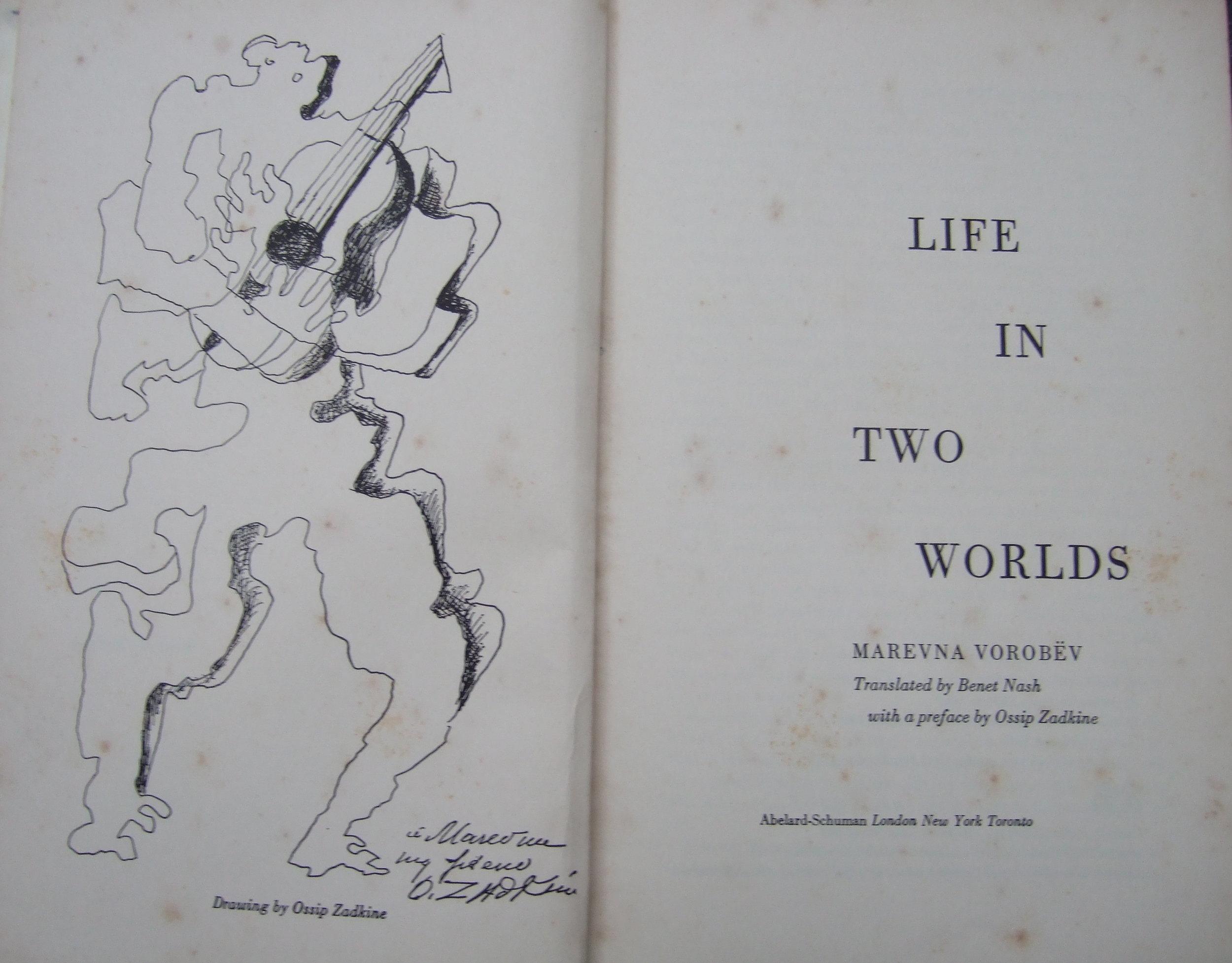 """Life in Two Worlds"" by Marevna Vorobev"