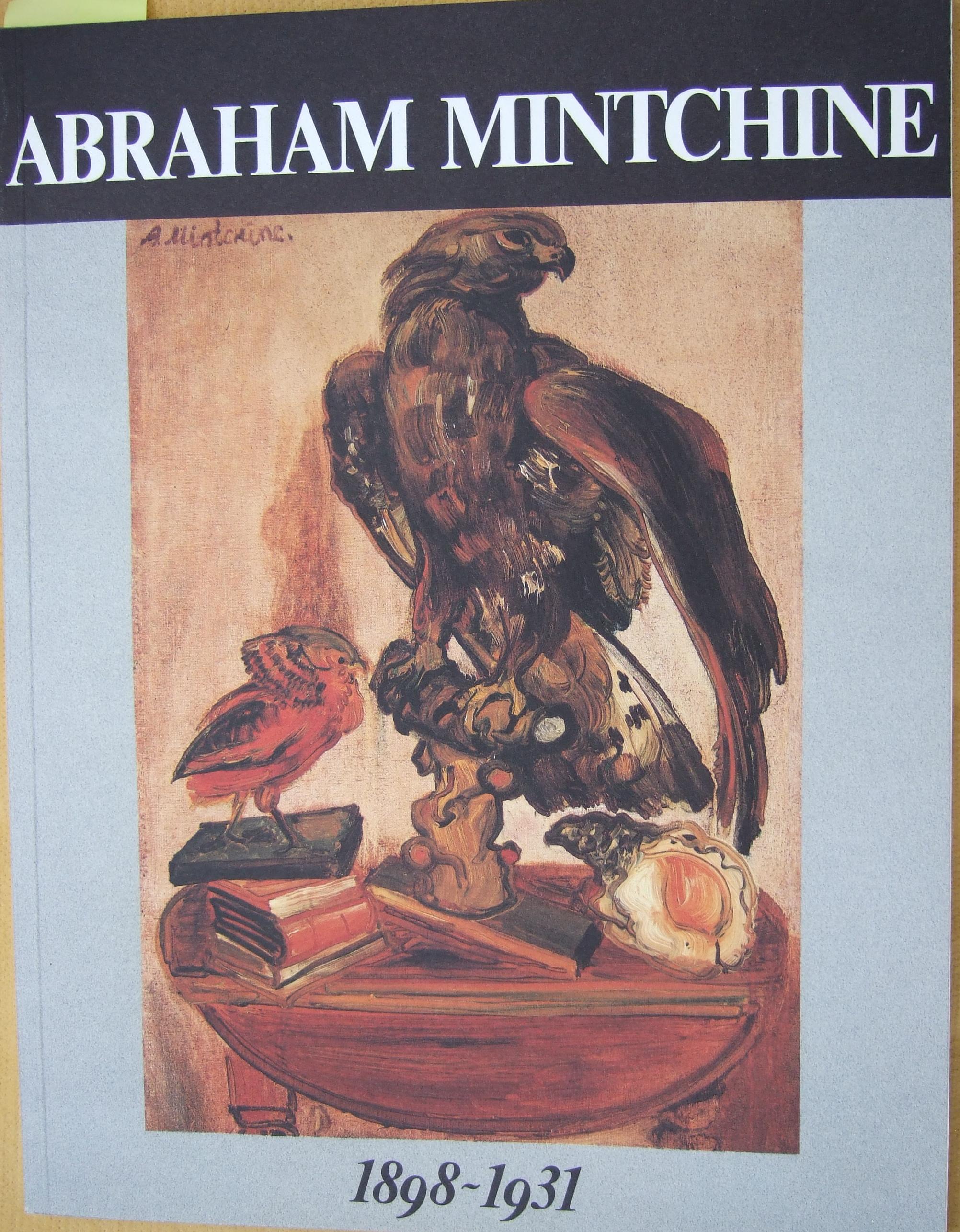 Abraham Mintchine by M. Di Veroli, 1989.