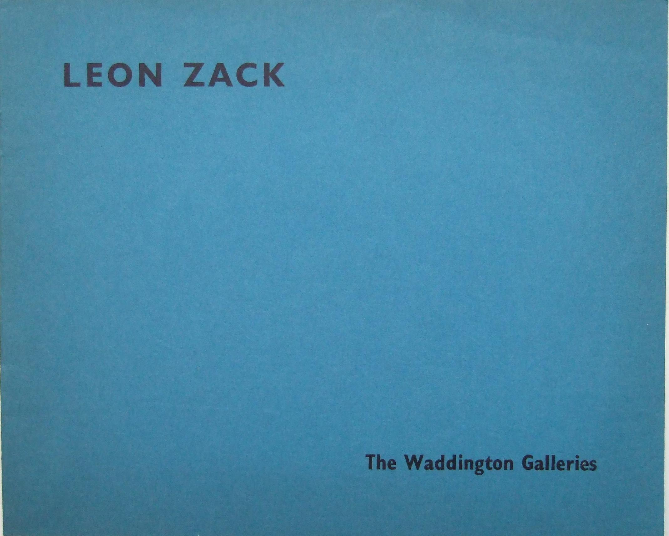Zack Leon (1892 – 1980)