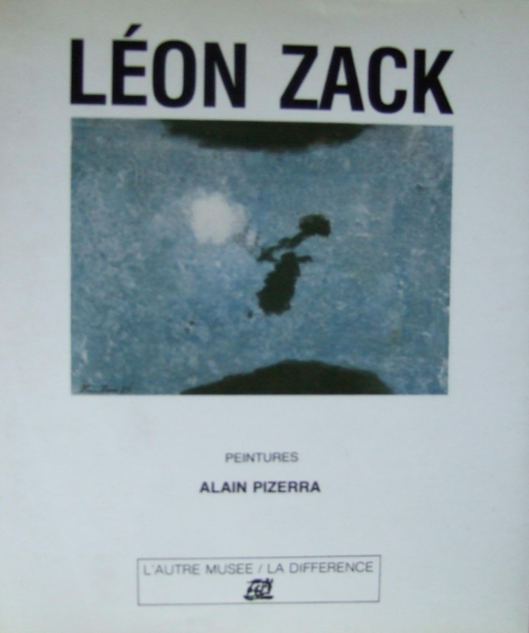 Leon Zack. Catalogue. Lautre Musee / La Difference. 1990.