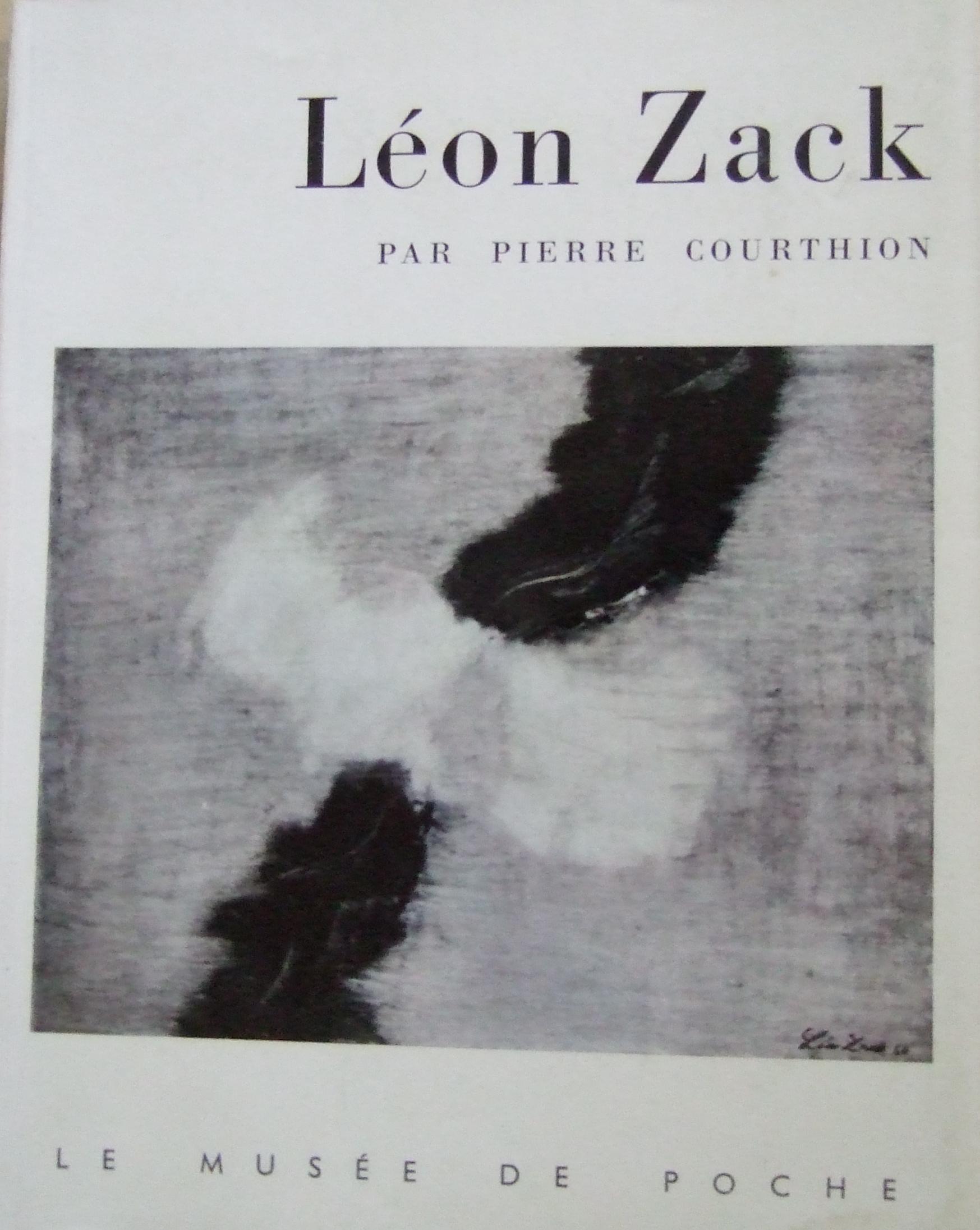 Leon Zack  By Pierre Courthion. 1961