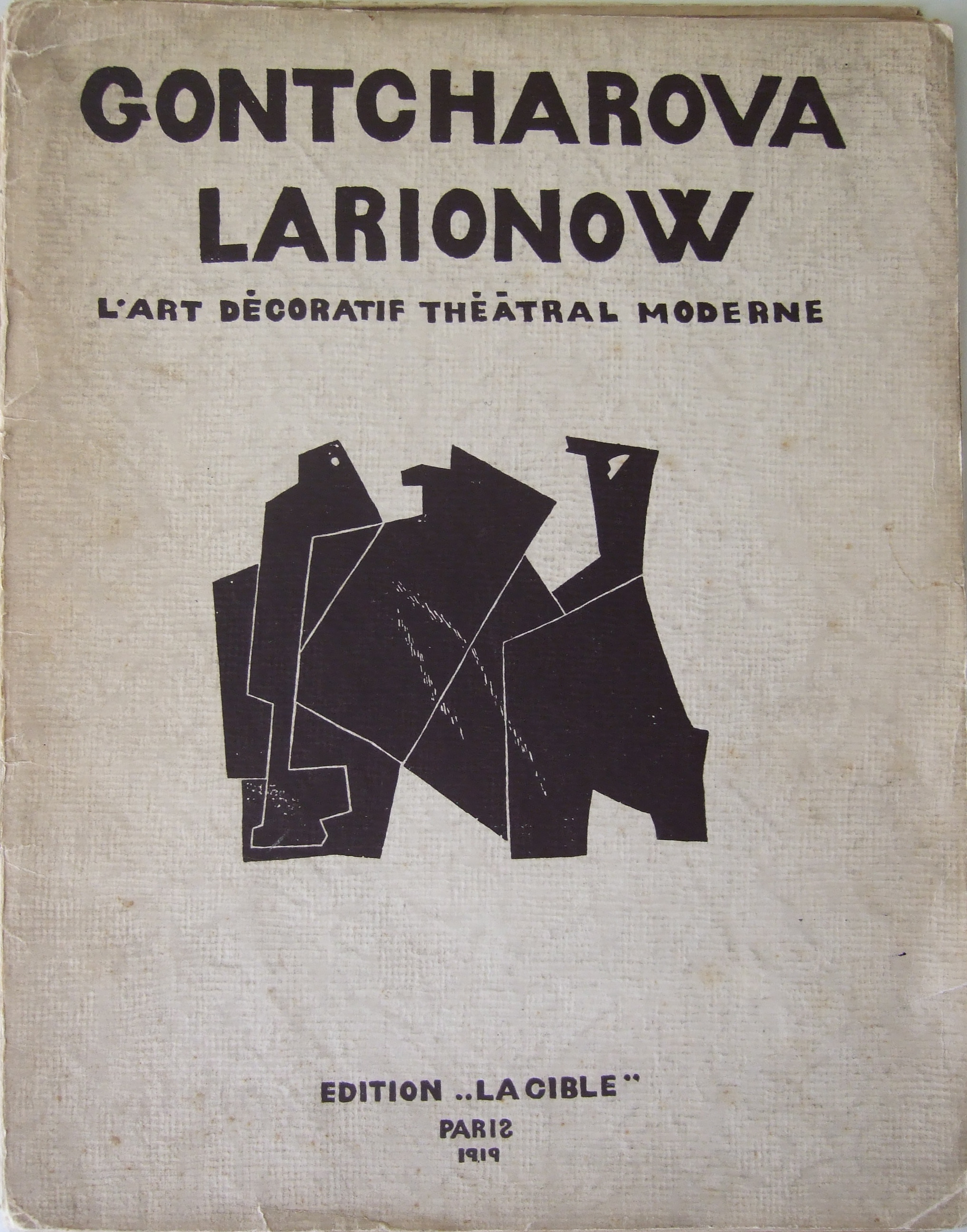 Gontcharova Larionow. Paris 1919
