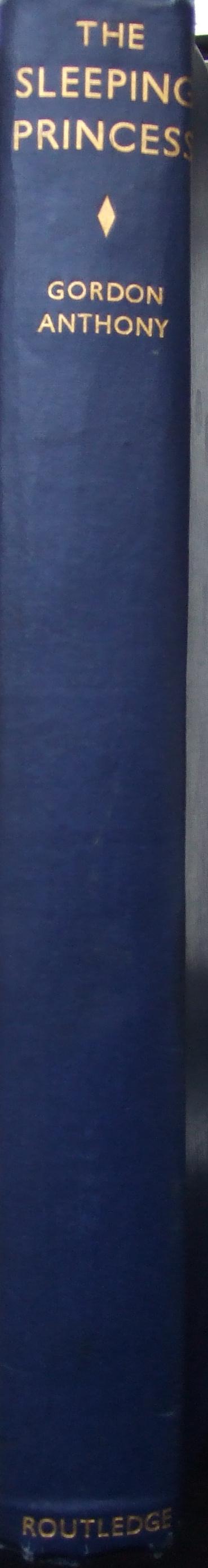 Binding.  The SLEEPING PRINCESS, 1940.
