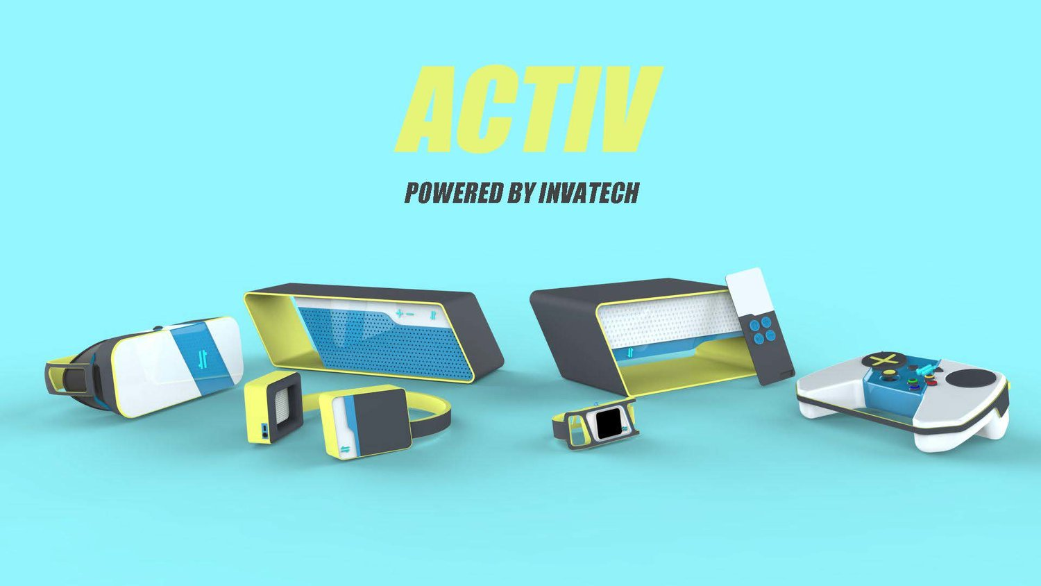 ACTIV: HEADPHONES  A collaborative project to produce consistent house styles of consumer technology for a fitness brand.