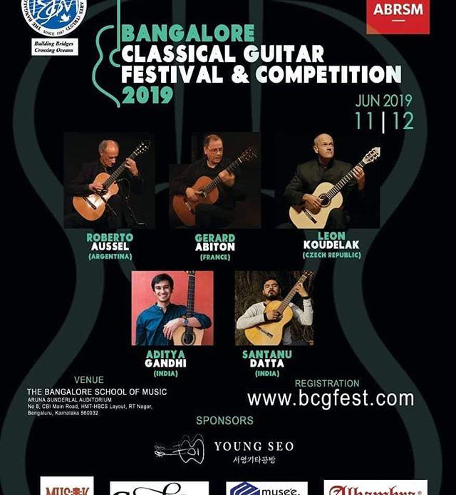 Tonight. At 7.  #classicalguitarist #classicalguitar #bangaloreconcert #gig #travelingmusician #concert #poster #classicalmusic