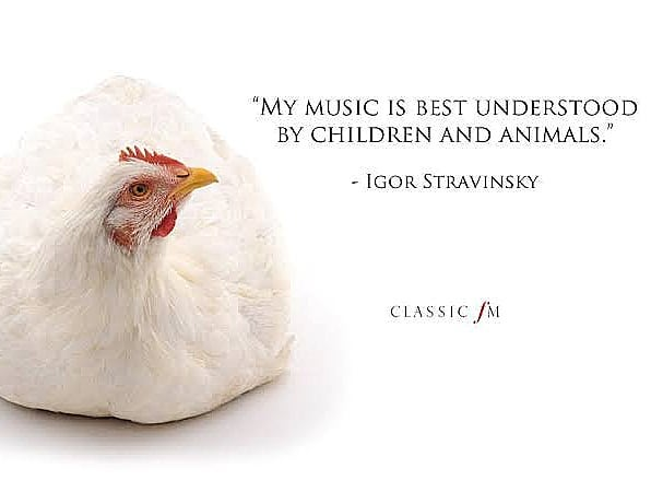 I am quite certain that #Stravinsky has been the most influential composer in my understanding of music.  Happy Birthday to this magnificent revolutionary.  #composer #classicalmusic #classicfm