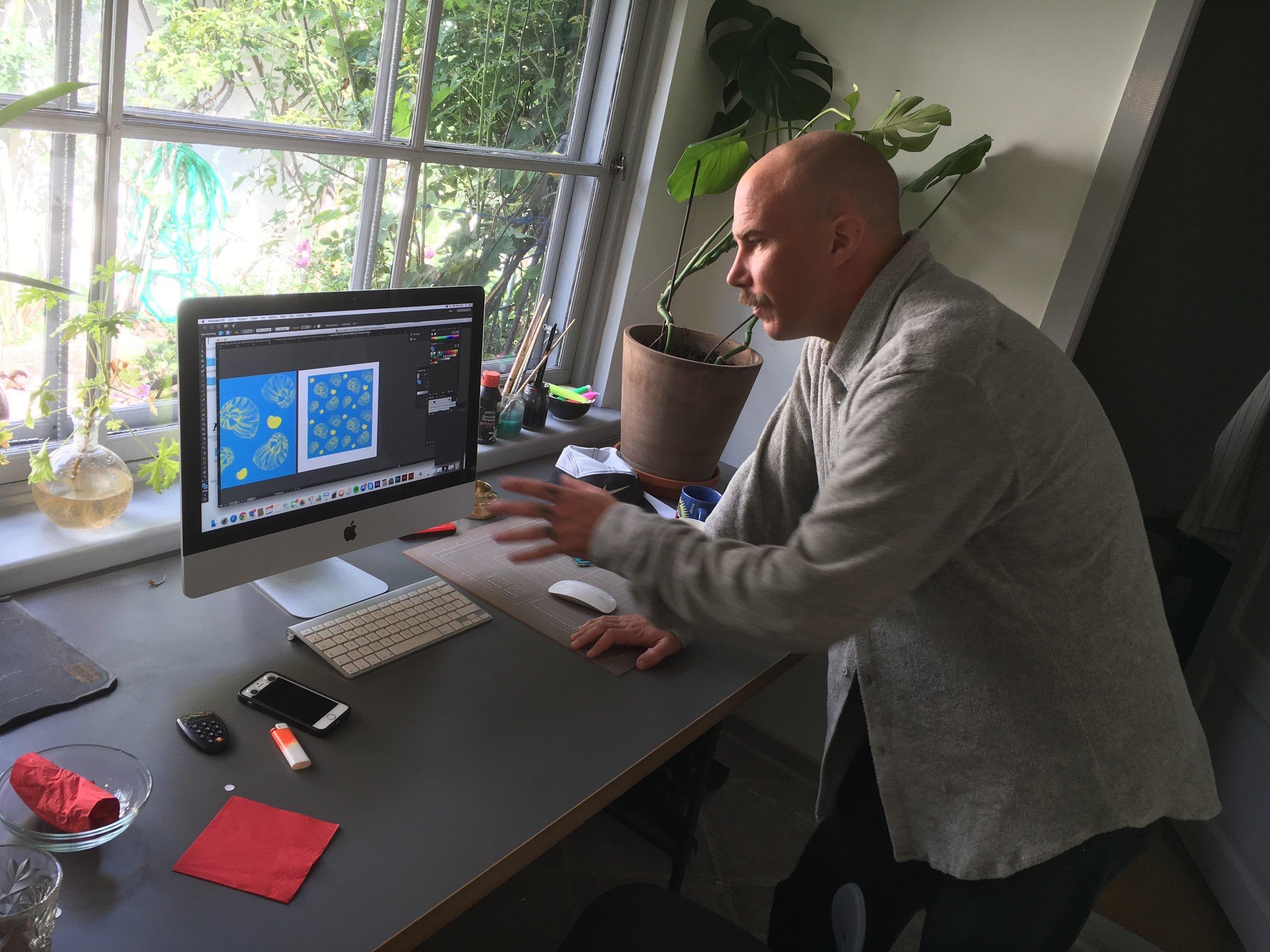 Kalle Aulin, Art Director