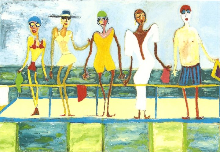 Ett av Don Clarres konstverk
