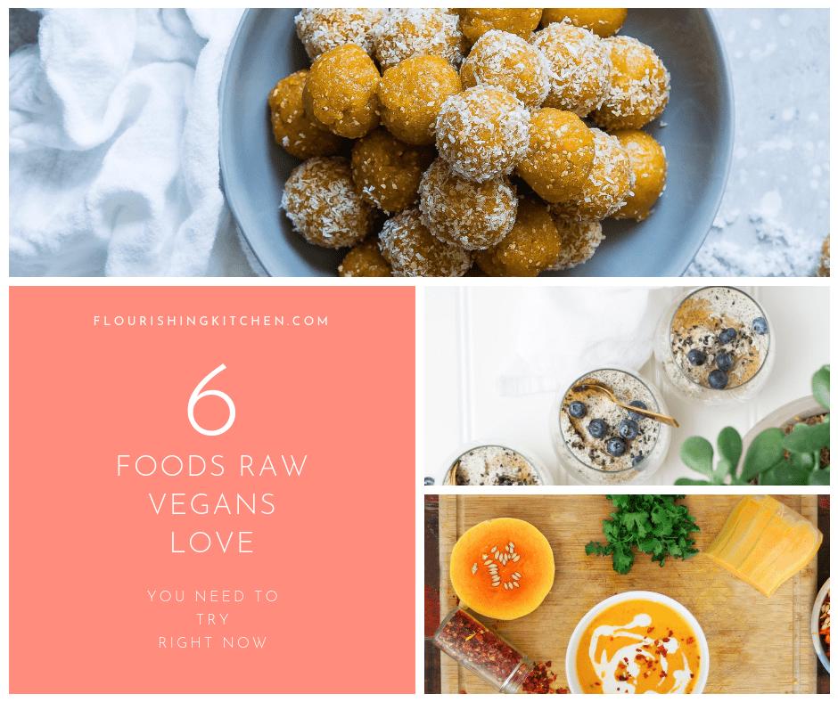 best healthy raw foods