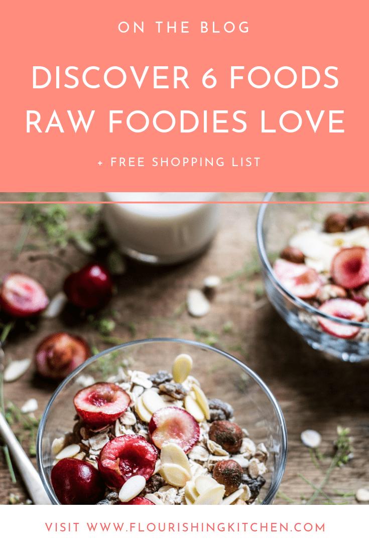 raw vegan foods