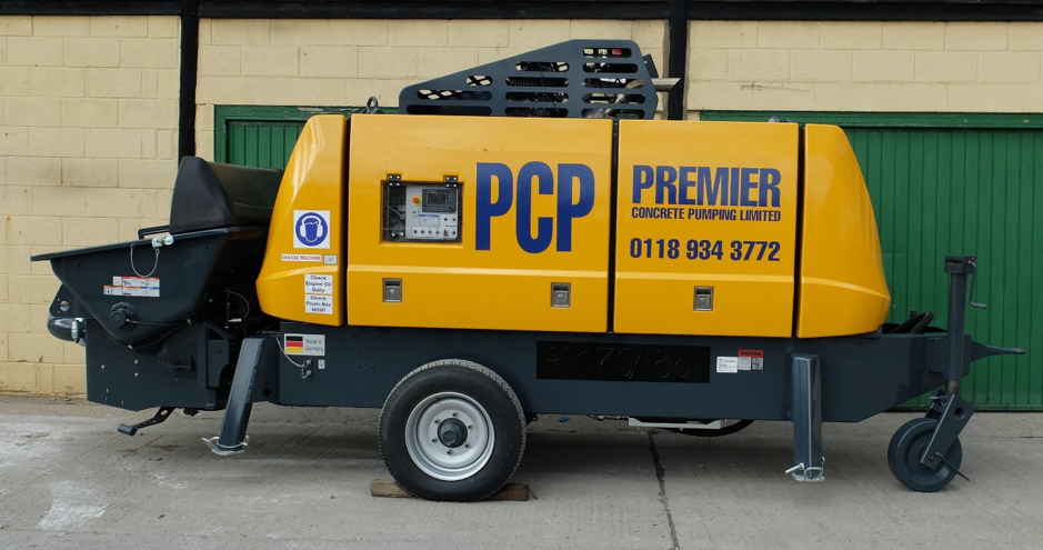 PM70 Static:Trailer Mounted Concrete Pump.png